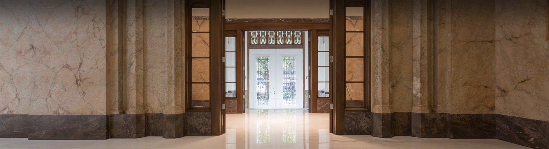 Gothische deur