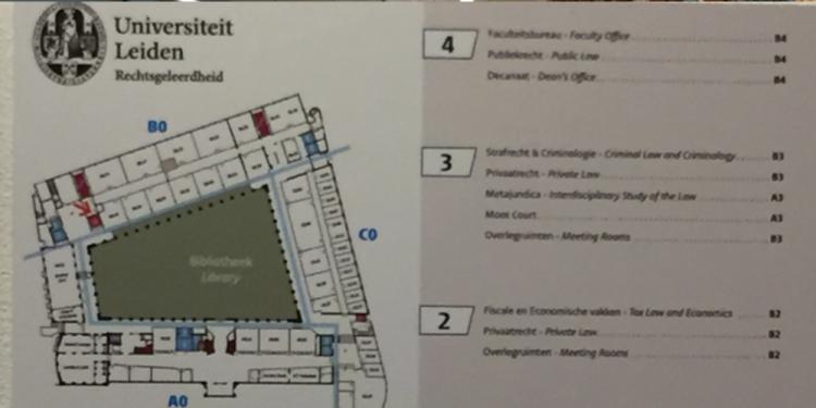KOG Leiden resultaat bewegwijzering plattegrond