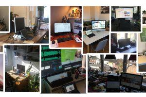 Creatief thuiswerken; omgaan met afstand